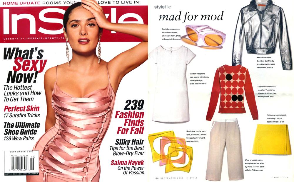 Christina Caruso Jewelry Design Featured In InStyle Magazine