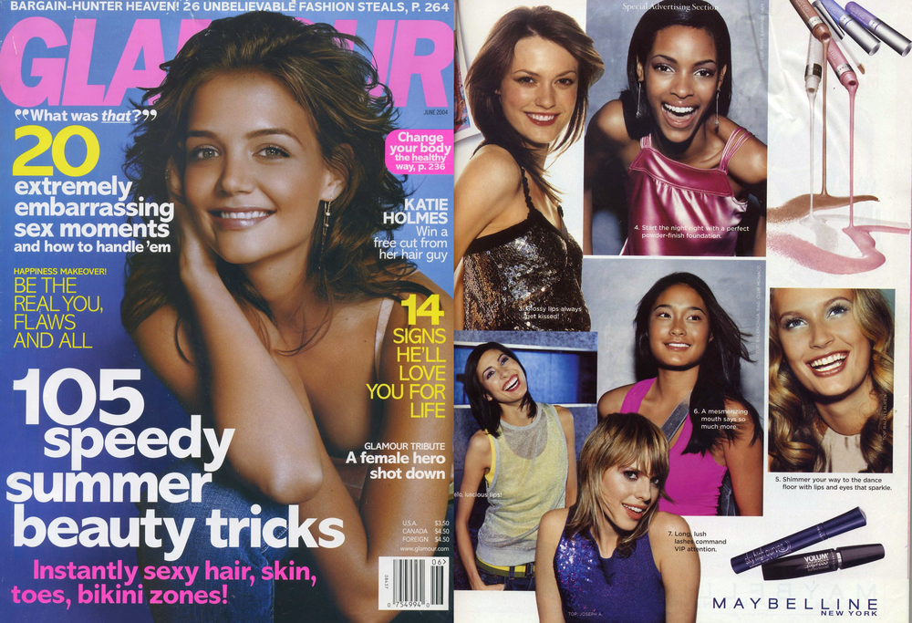 Christina Caruso Featured By Maybelline New York In Lucky Magazine