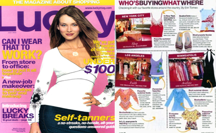 Christina Caruso Jewelry Design Featured In Lucky Magazine