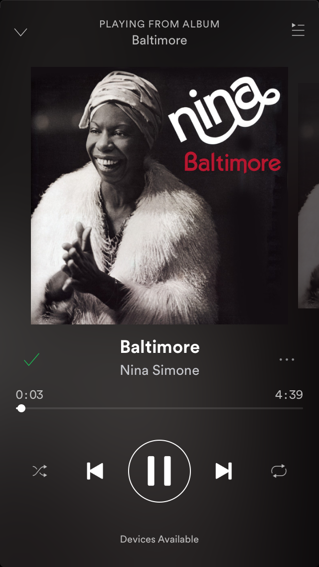 Oh, Baltimore   Man, it's hard just to live