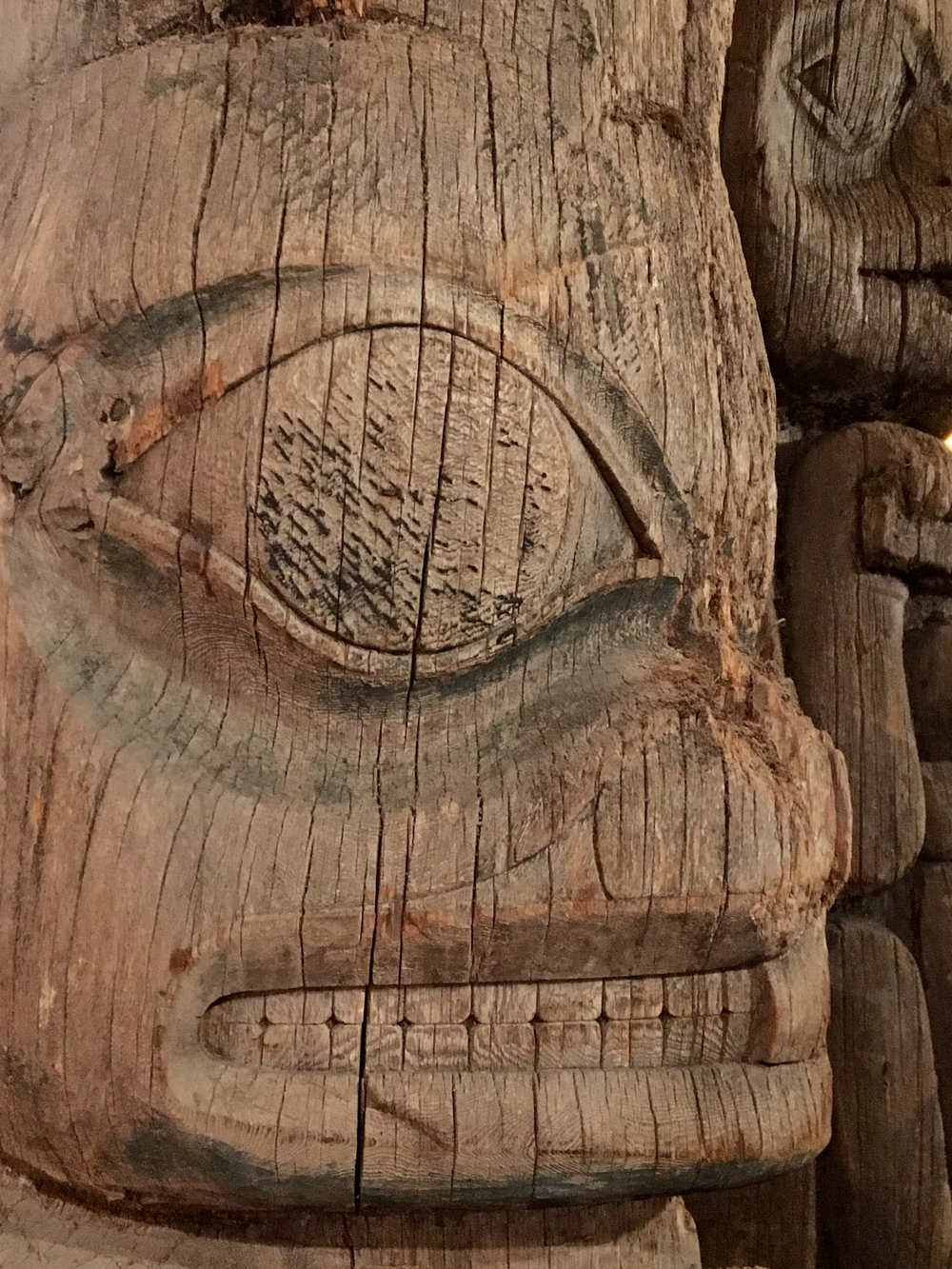 Art is a universal, timeless expression of cultural regimes. Totem Heritage Center, Ketchikan, AK.