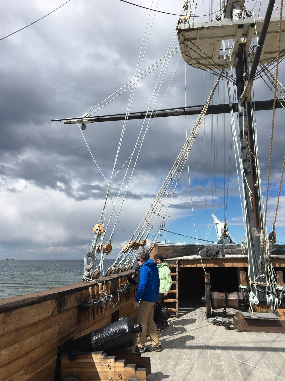 HMS Beagle replica at Nao Victoria Museum Punta Arenas, Chile