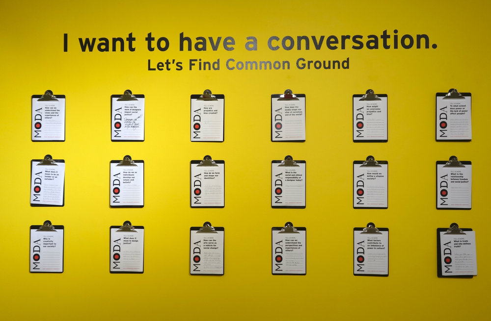 I Want to Have a Conversation Interactive Activity. Photo by Susan Sanders.jpg