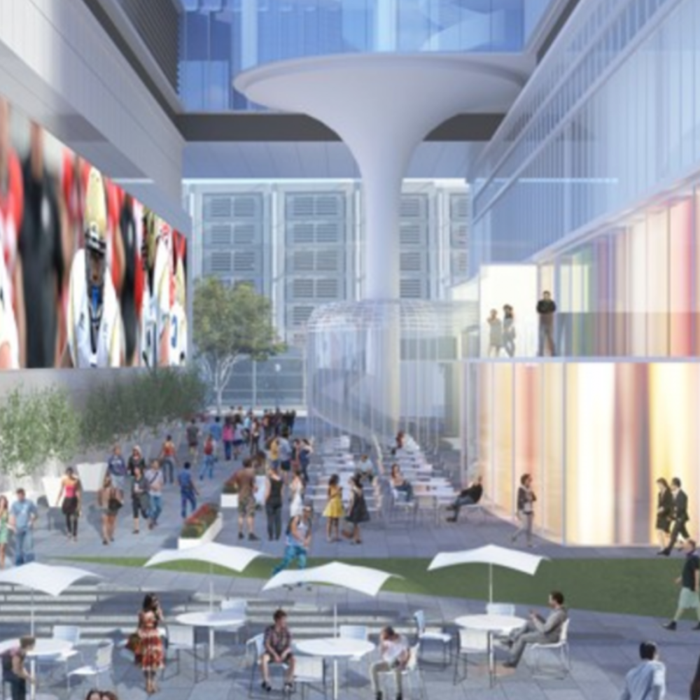 CODA - A premier mixed-use development with 645,000sf  of office space, Coda will serve as the core of collaboration and pinnacle of innovation in Midtown Atlanta's Tech Square. Designed by John Portman & Associates