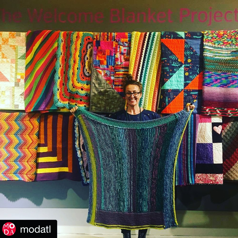 A Welcome blanket contributor.