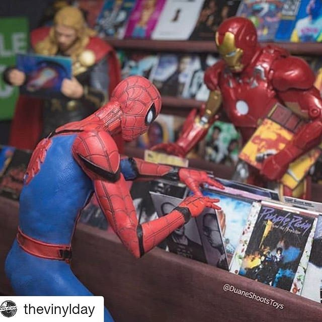 #Repost @thevinylday (@get_repost) ・・・ Just another day at your local record store 📷: @duaneshootstoys ⠀⠀⠀⠀⠀⠀⠀⠀⠀ Calling all record collectors out there! Want to share & showcase your records collection with our community? ⠀⠀⠀⠀⠀⠀⠀⠀⠀ Download#vinylofthedaymarketplace app now to start selling, buying vinyl records, and discover interesting music through the shared vinyl records collection from the community. ⠀⠀⠀⠀⠀⠀⠀⠀⠀ iOS link: http://cratedig.us/app Android link: http://cratedig.us/android ⠀⠀⠀⠀⠀⠀⠀⠀⠀ #vinyligclub#vinylporn #instavinyl#vinyl#vinylcommunity #vinylcollection#vinylcollectionpost #vinylcollector#recordcollector #recordcollection #vinyladdict #recordstoreday #vinyljunkie#records#asia#music #cratedigger #cratedigging #roomoftheday #toys #ironman #spiderman #thor