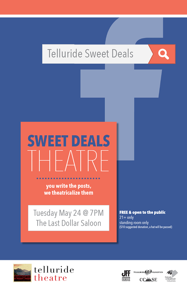 Sweet Deals Theatre May 2016