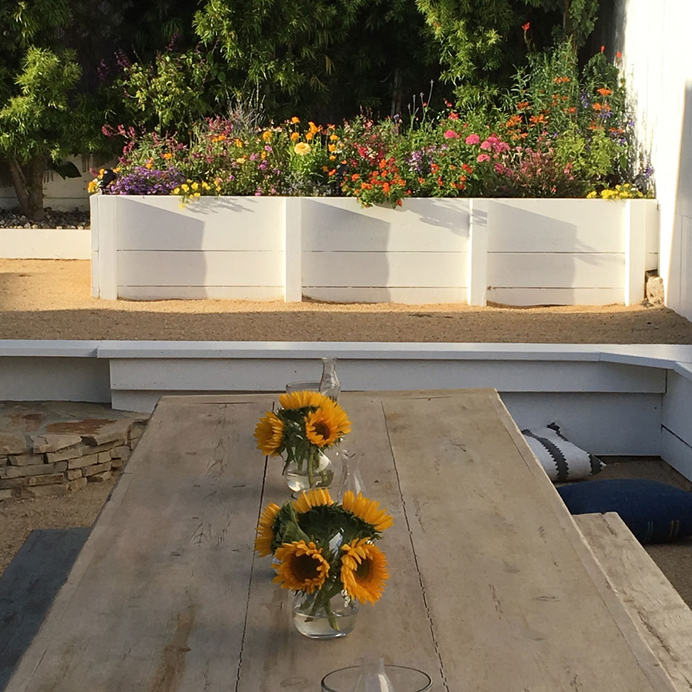 Using Planters For Staging