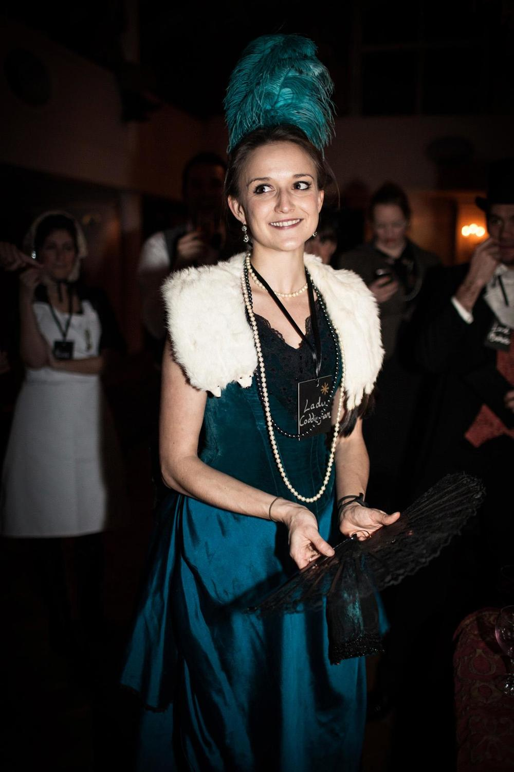 Elegance and refinment at a Victorian murder mystery evening
