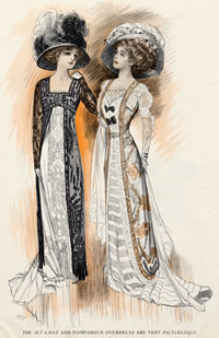 1909 fashion plate