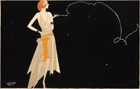 1920s fashion illustration