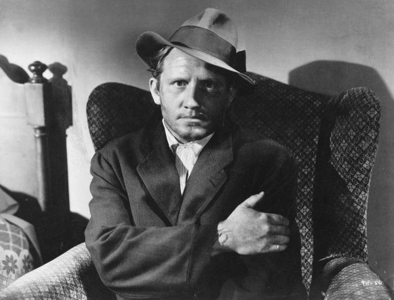 Spencer Tracy in magnificent hat