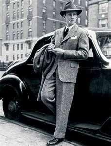 1940s wide suit