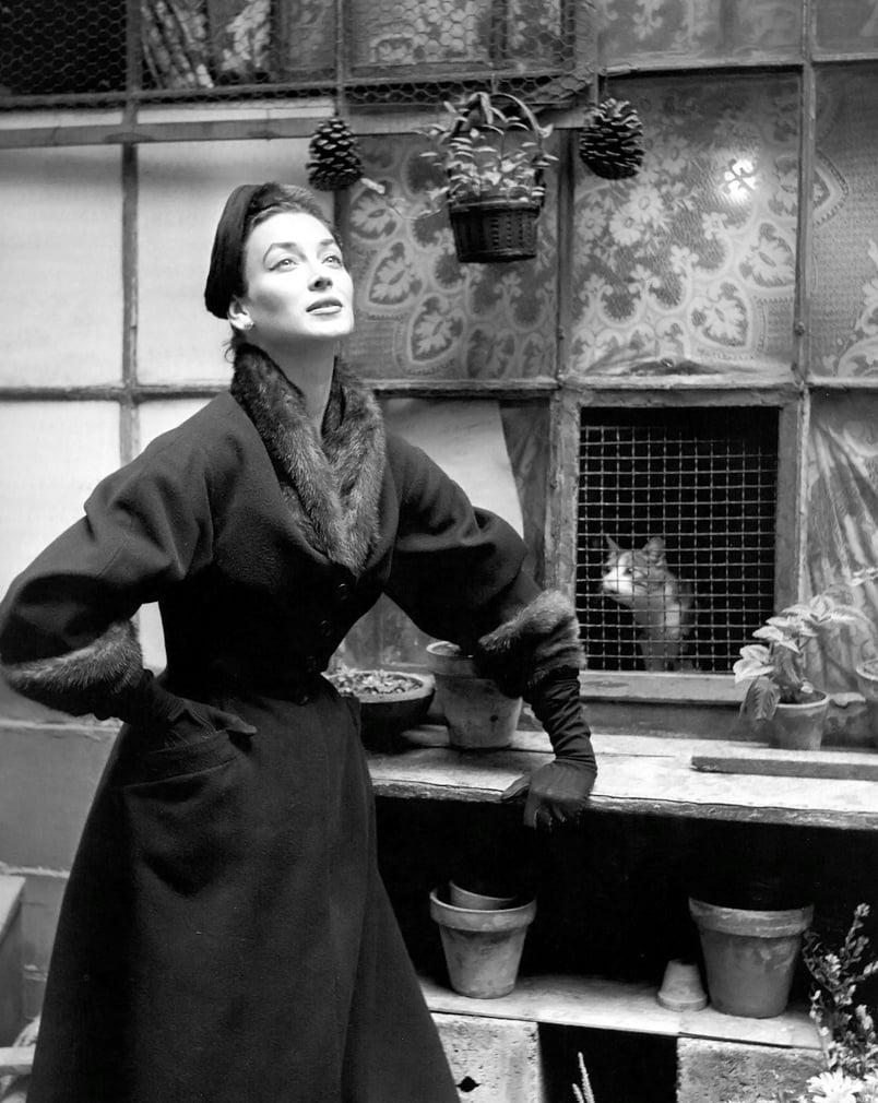 1950s model Dorian Leigh