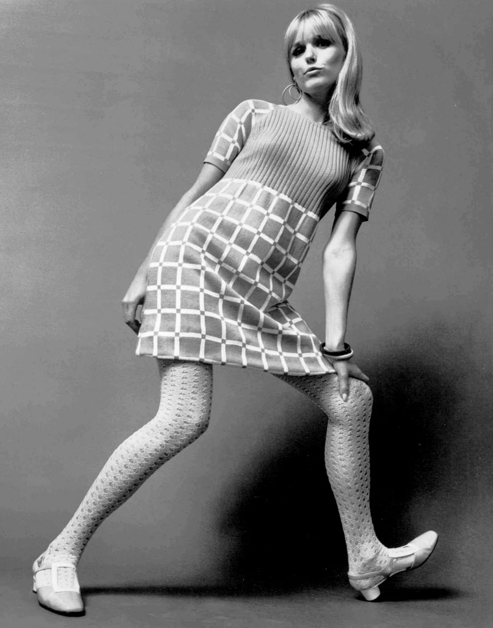 Sweater knit dress 1967