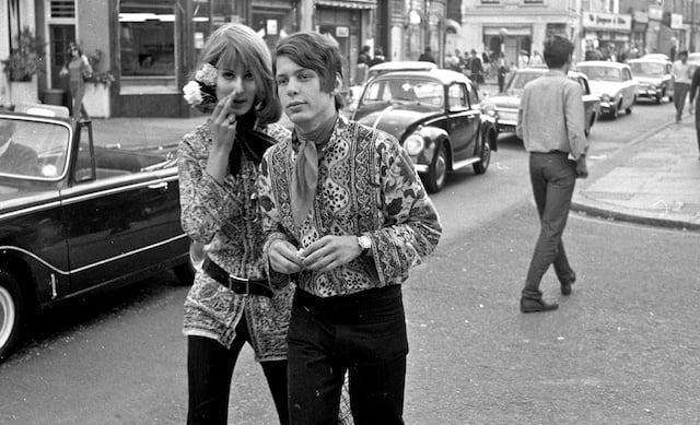London hippies 1966