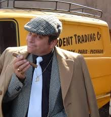Del Boy Trotter looking cushty