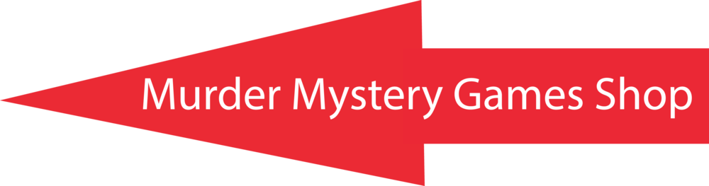 Arrow to Murder Mystery Games Shop on Murder Mystery Games website