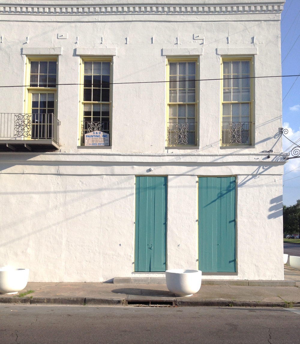 A simple, beautiful building off Elysian Fields.