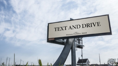 Photo Credit:   https://www.thestar.com/news/gta/2016/05/12/text-and-drive-funeral-home-billboard-draws-attention.html
