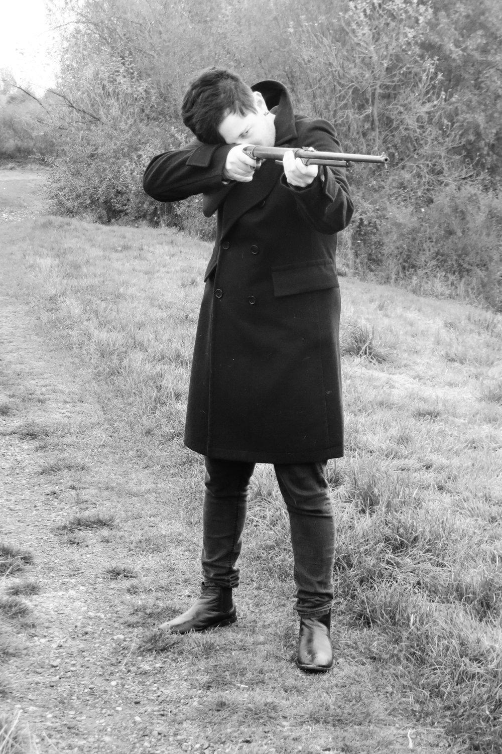 CUPID CARRIES A GUN