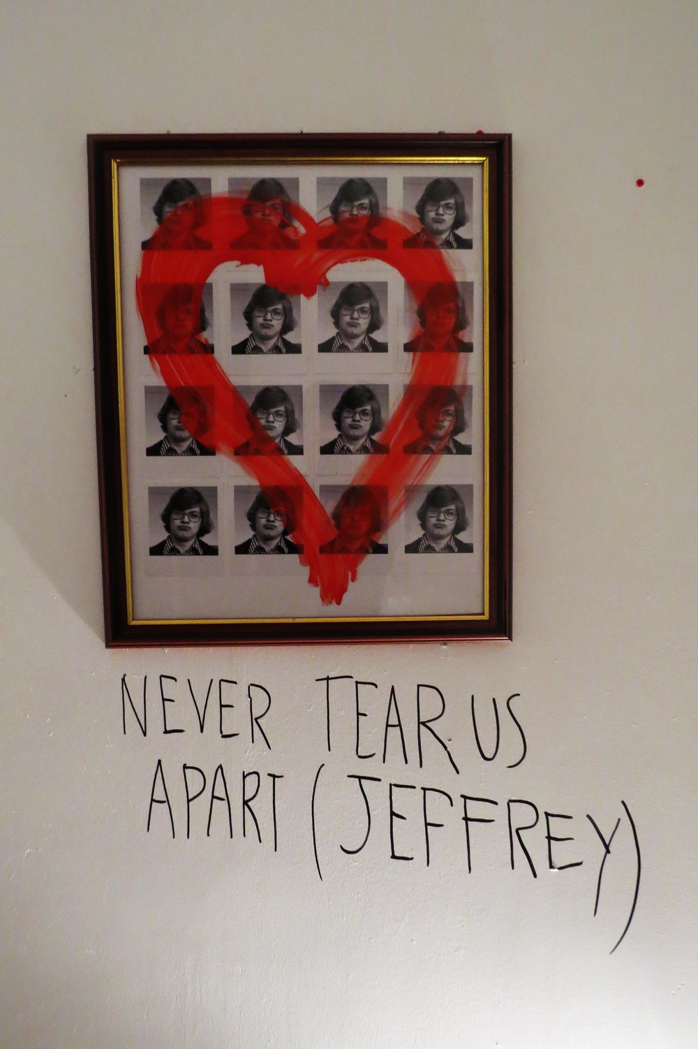 LOVE WILL NEVER TEAR US APART (JEFREY)
