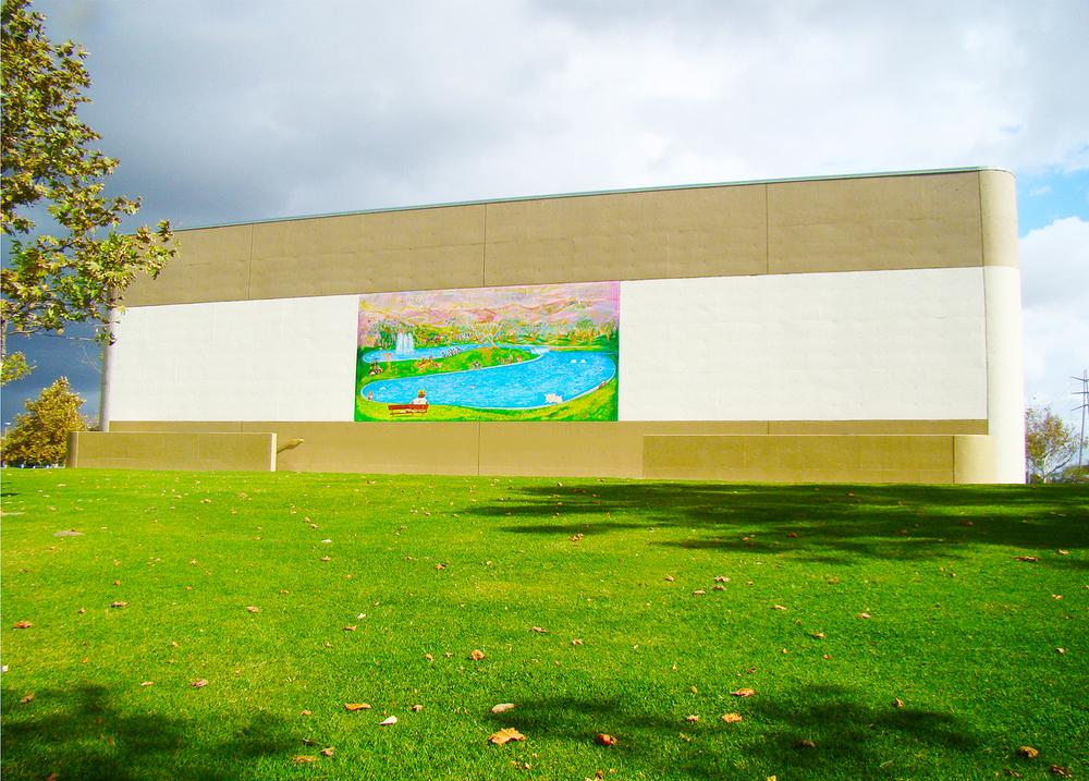 Los Angeles Arts Commission , Los Coyotes mural,Cerritos