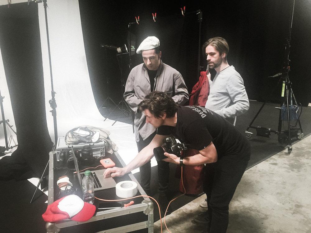 Bülent Ceylan - Shooting Bülent for his new 2018 tour «Lassmalache»