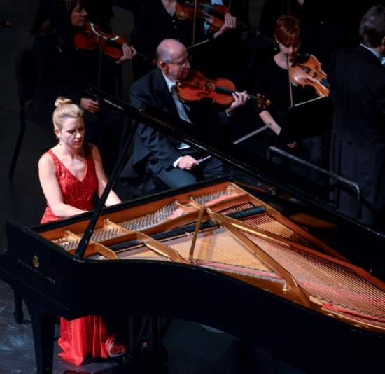 Performance of Rachmaninoff's Variations on a Theme of Paganini with the Las Colinas Symphony (May 2015)