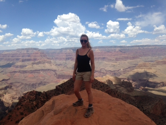 Hiking in the Grand Canyon (July 2015)
