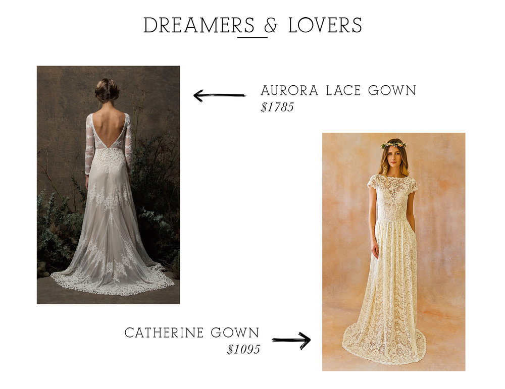Aurora Lace Gown  /  Catherine Gown