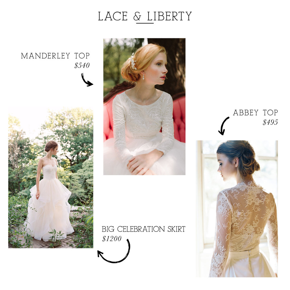 Big Celebration Skirt  /  Manderley Top  /  Abbey Top