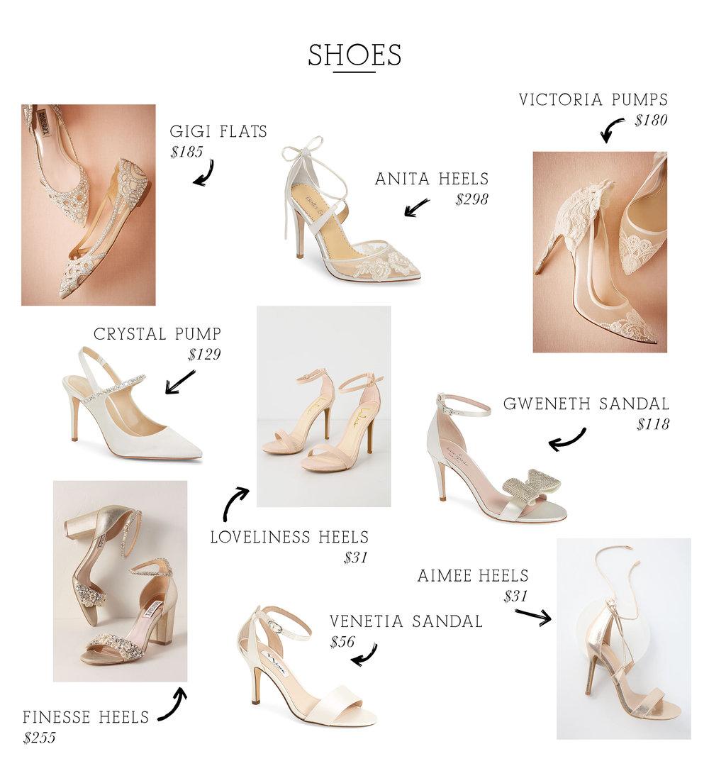 Gigi Flats  /  Anita Heels  /  Victoria Pumps  /  Crystal Pump  /  Loveliness Heels  /  Gweneth Sandal  /  Finesse Heels  /  Venetia Sandal  /  Aimee Heels