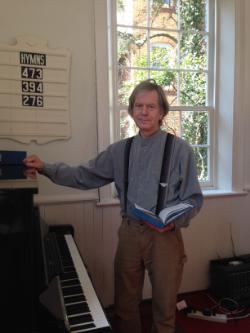 Musician Ethan Hamburg