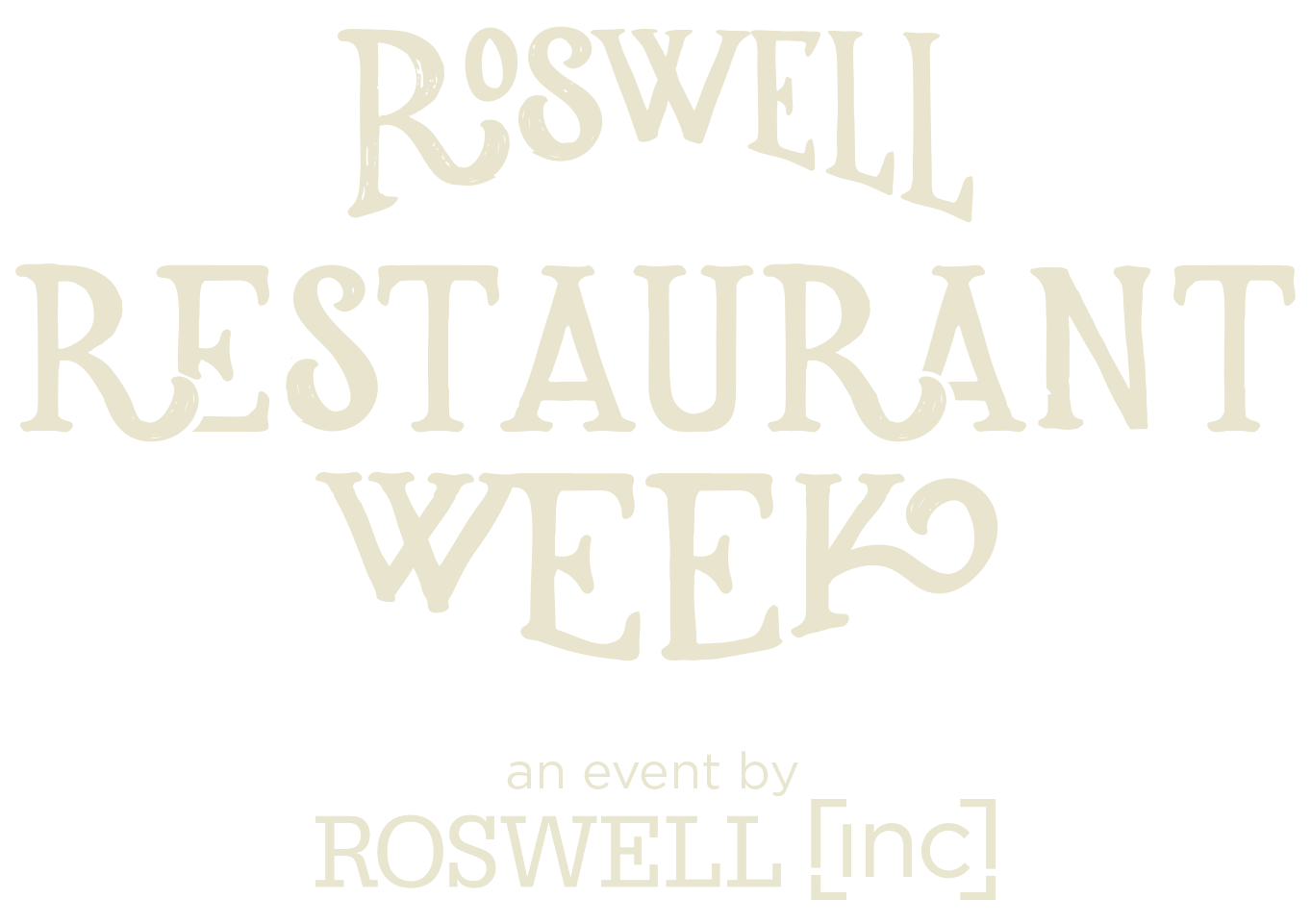 Roswell Restaurant Week  |   an event by Roswell Inc