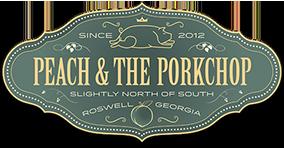 Peach & The Porkchop Logo