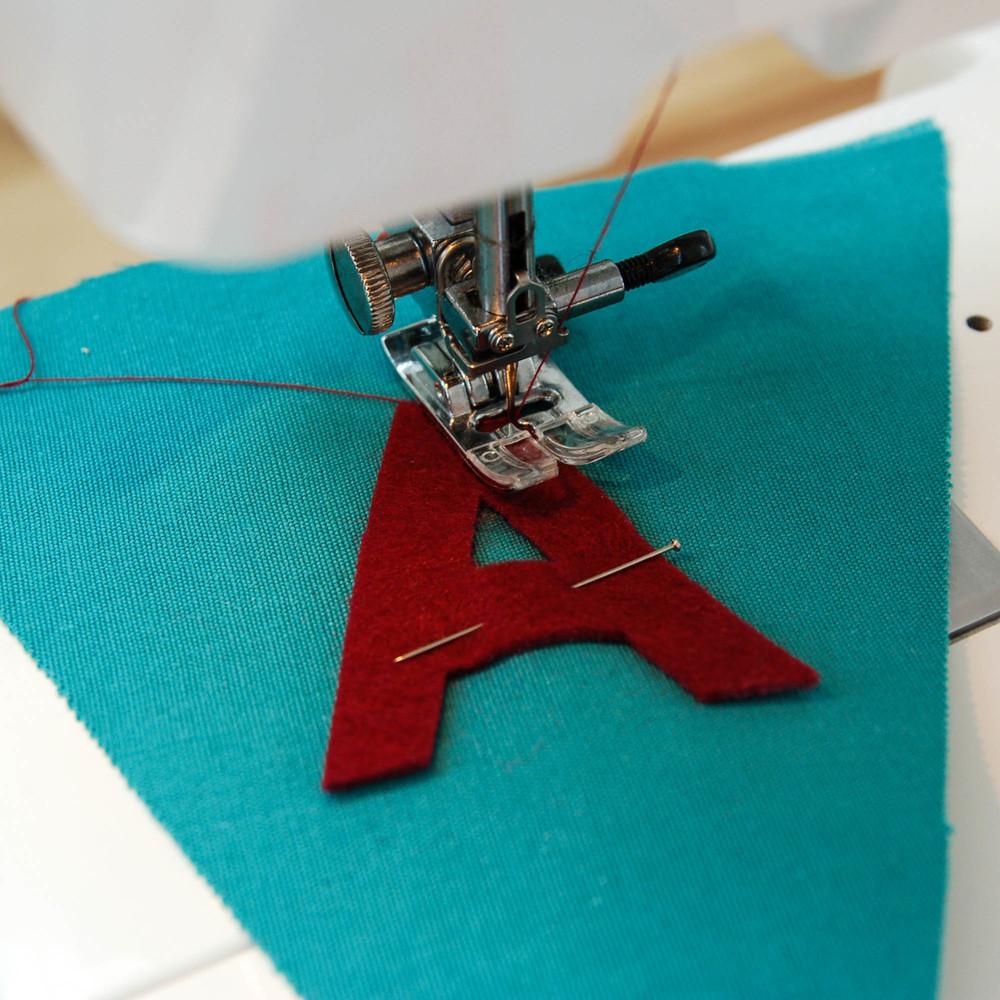 costura diy banderitas