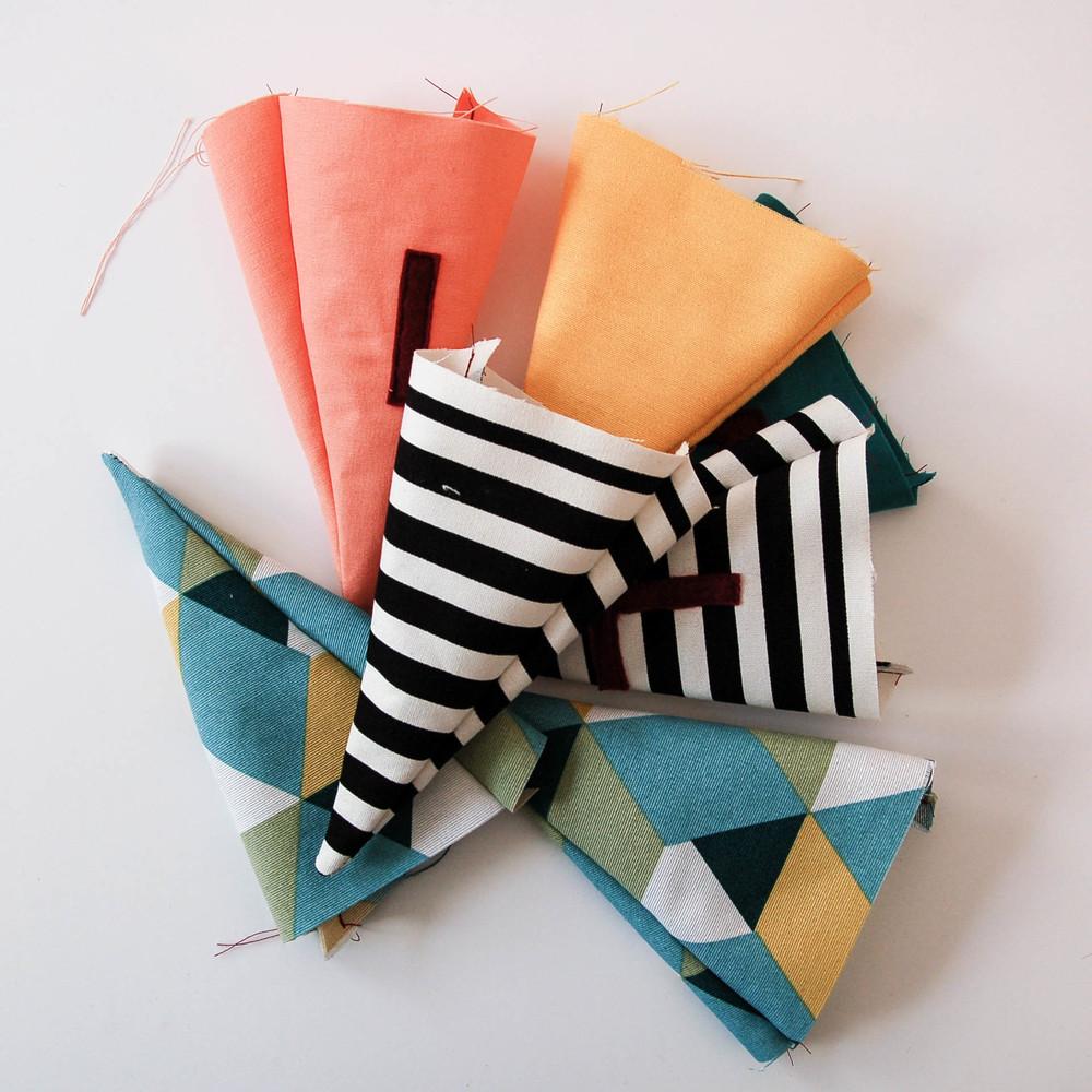 banderitas diy costura
