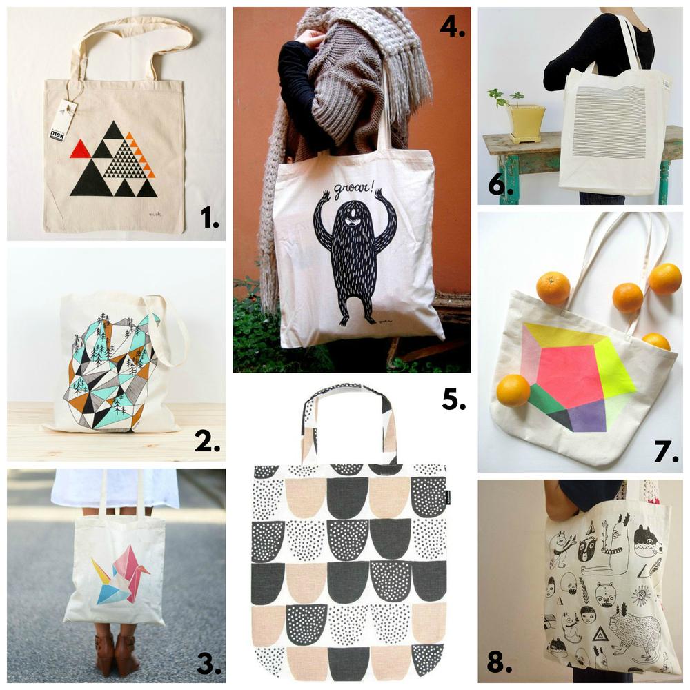 Bolso de tela/tote bag: consejos e inspiración — Studio COSTURA