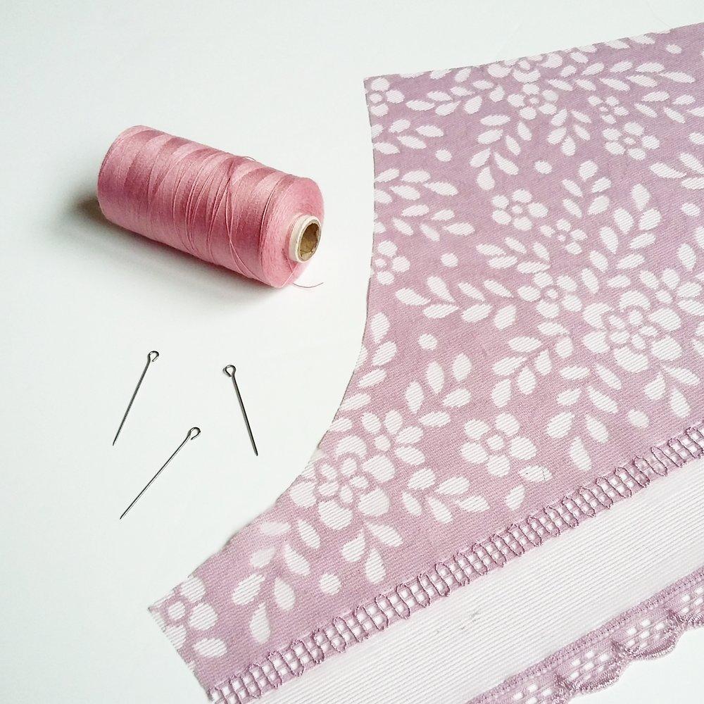 Bata kimono y lencería // Kimono robe and lingerie — Studio COSTURA
