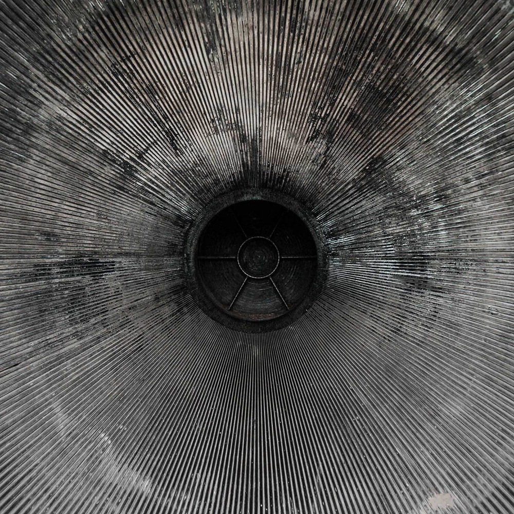 Closeup of a rocket engine by Jordan Reeder