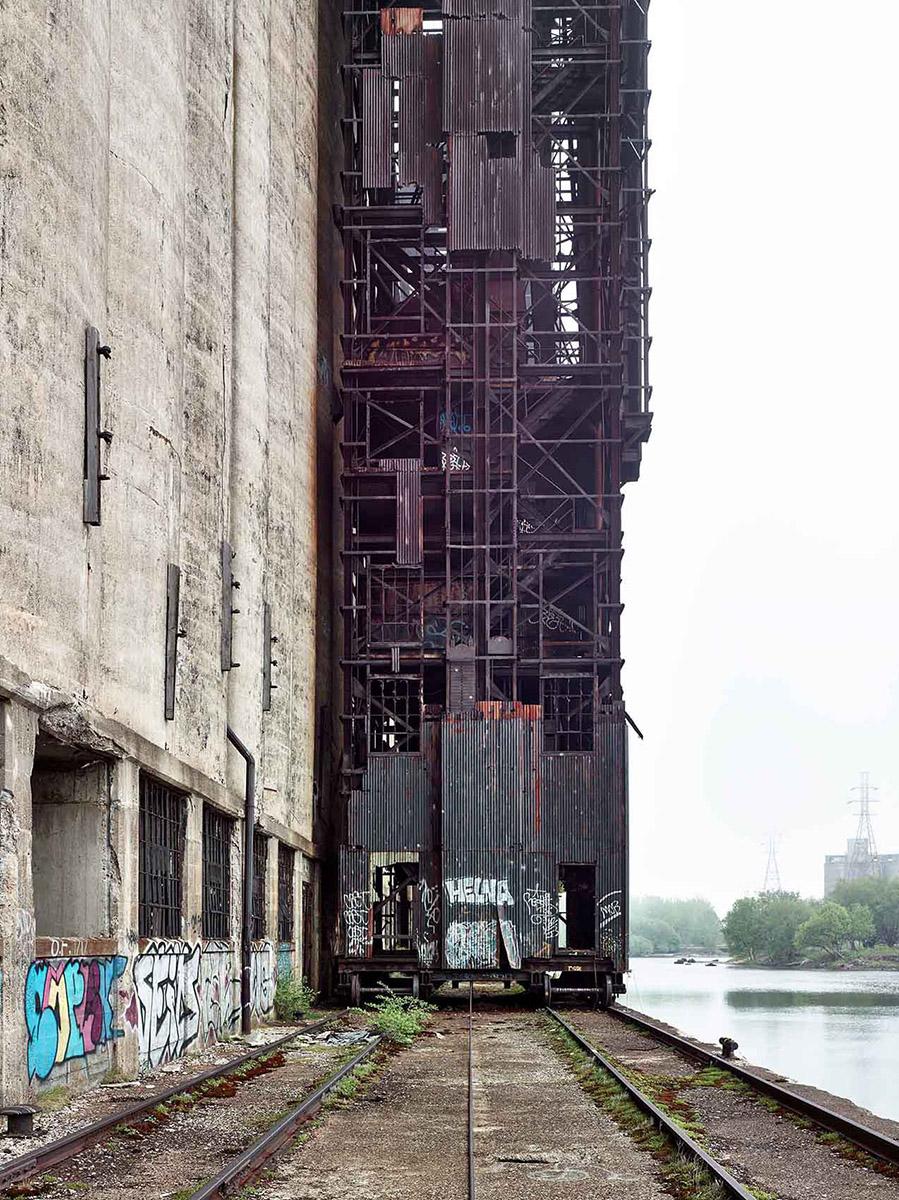 erie canal Silo City Concrete Central Elevator exterior