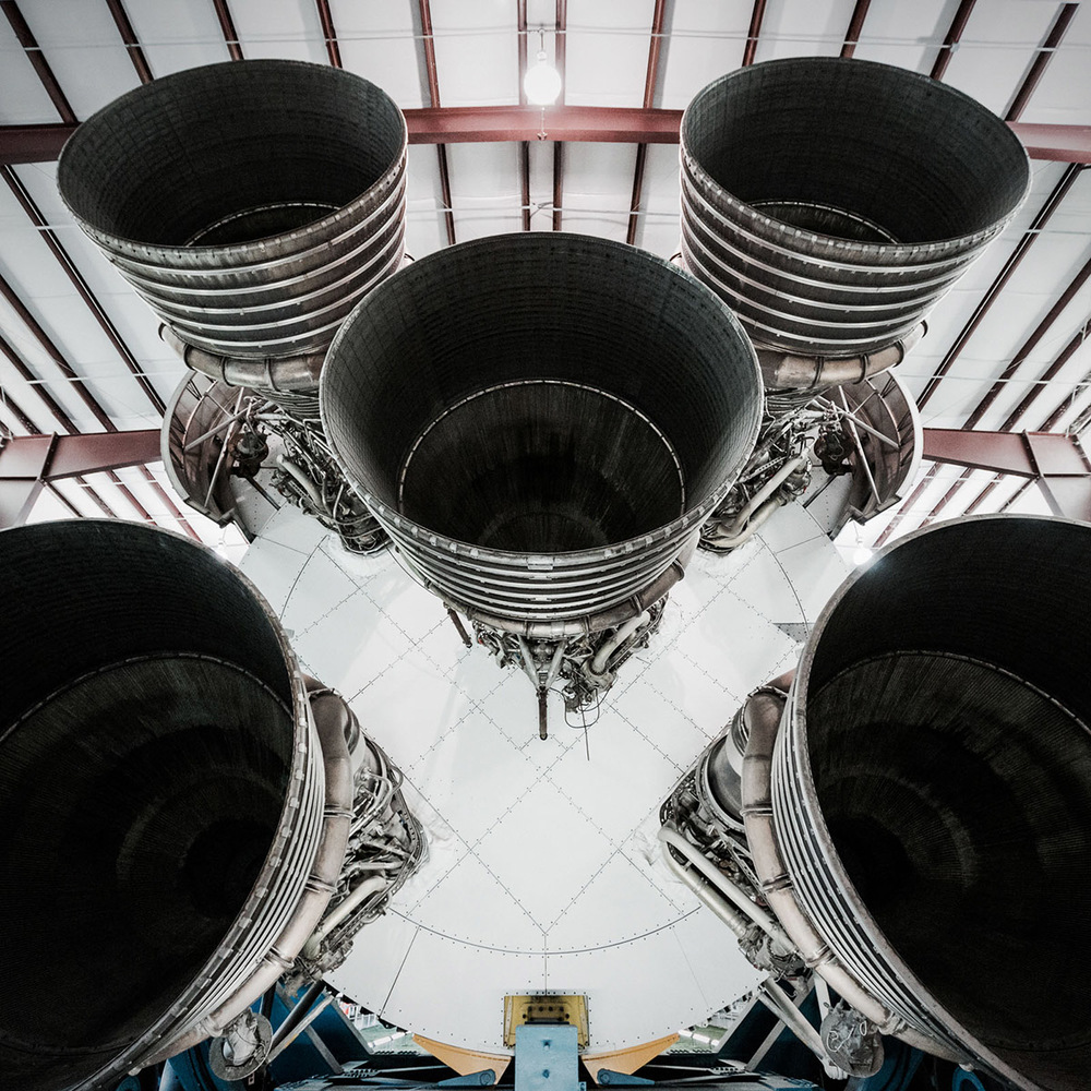 Rocket Engines at NASA Space Center by Jordan Reeder
