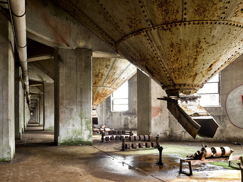 silo city abandoned industrial architectural American Mill buffalo ny
