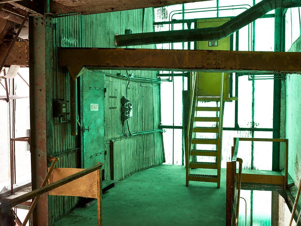 silo city Perot Malting Elevator interior buffalo ny