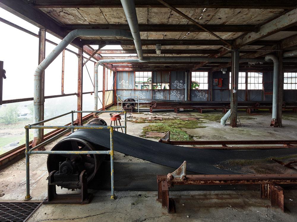 silo city buffalo ny abandoned American Elevator phase one camera
