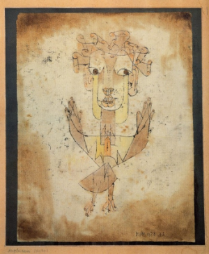 Angelus Novus- Paul Klee