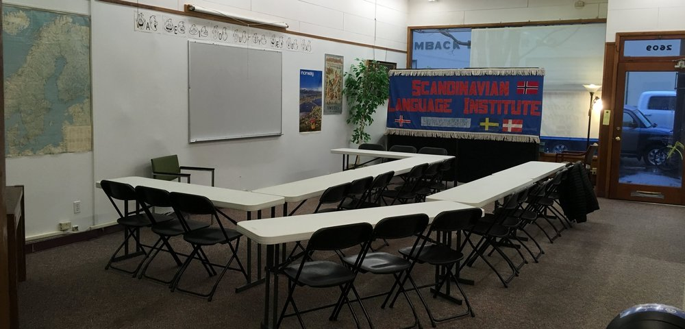 Large class space -