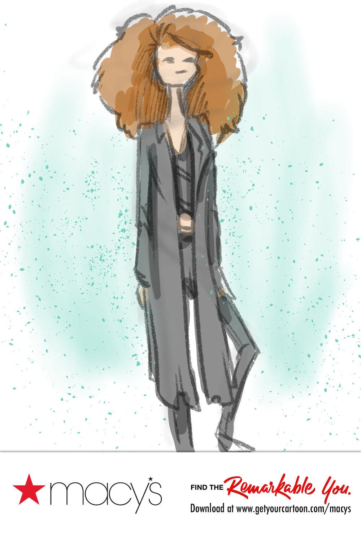 Digital Fashion Sketches