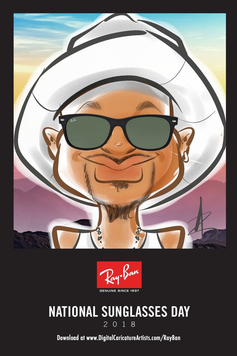 Product Promotion Digital Caricatures